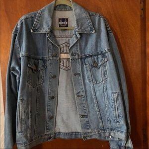 Vintage Harley Davidson denim jacket.